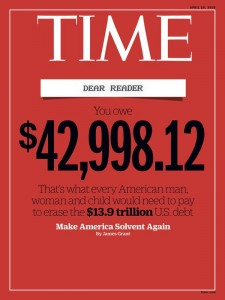 Zombie Time Magazine Cover
